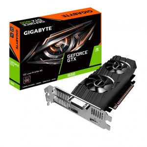 Placa De Vídeo Gigabyte GTX 1650 OC Edition Low Profile GV-N1650OC-4GL